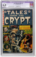 Golden Age (1938-1955):Horror, Tales From the Crypt #34 (EC, 1953) CGC Apparent FN 6.0 Slight (P)Cream to off-white pages....