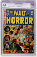 Golden Age (1938-1955):Horror, Vault of Horror #28 (EC, 1953) CGC Apparent FN 6.0 Slight (P) Creamto off-white pages....
