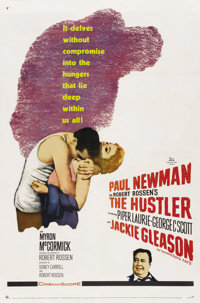 "The Hustler (20th Century Fox, 1961). One Sheet (27"" X 41"")"