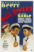 "Movie Posters:Adventure, Hell Divers (MGM, 1932). One Sheet (27"" X 41""). ..."