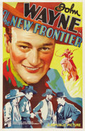"Movie Posters:Western, The New Frontier (Republic, 1935). One Sheet (27"" X 41""). ..."