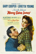 "Movie Posters:Western, Along Came Jones (RKO, 1945). One Sheet (27"" X 41"") Style A. ..."