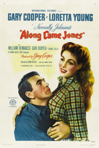 "Along Came Jones (RKO, 1945). One Sheet (27"" X 41"") Style A"