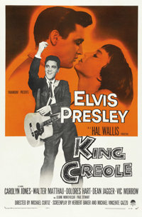 "King Creole (Paramount, 1958). One Sheet (27"" X 41"")"