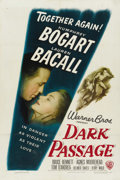 "Movie Posters:Film Noir, Dark Passage (Warner Brothers, 1947). One Sheet (27"" X 41"")...."