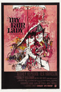 """Movie Posters:Comedy, My Fair Lady (Warner Brothers, 1964). One Sheet (27"""" X 41""""). ..."""