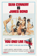 "Movie Posters:James Bond, You Only Live Twice (United Artists, 1967). One Sheet (27"" X 41"")Style C. ..."
