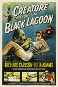 """Movie Posters:Horror, Creature From the Black Lagoon (Universal International, 1954). One Sheet (27"""" X 41""""). ..."""