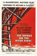 "Movie Posters:War, The Bridge on the River Kwai (Columbia, 1958). One Sheet (27"" X 41"") Style A. ..."