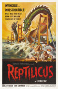 "Movie Posters:Science Fiction, Reptilicus (American International, 1961). One Sheet (27"" X 41"")...."