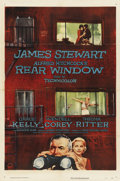 "Movie Posters:Hitchcock, Rear Window (Paramount, 1954). One Sheet (27"" X 41""). ..."