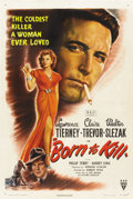"Movie Posters:Film Noir, Born to Kill (RKO, 1946). One Sheet (27"" X 41"")...."