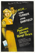 "Movie Posters:Film Noir, The Postman Always Rings Twice (MGM, 1946). One Sheet (27"" X 41"")...."