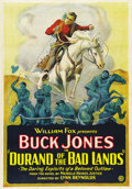 "Movie Posters:Western, Durand of the Bad Lands (Fox, 1925). One Sheet (27"" X 41""). ..."