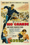 "Movie Posters:Western, Rio Grande (Republic, 1950). One Sheet (27"" X 41""). ..."