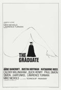 "Movie Posters:Comedy, The Graduate (Embassy, 1967). One Sheet (27"" X 41"") Style B. ..."