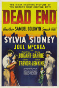"Movie Posters:Crime, Dead End (United Artists, 1937). One Sheet (27"" X 41""). ..."