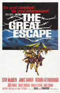 "Movie Posters:War, The Great Escape (United Artists, 1963). One Sheet (27"" X 41""). ..."