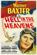 "Movie Posters:War, Hell in the Heavens (Fox, 1934). One Sheet (27"" X 41""). ..."