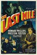 "Movie Posters:Drama, The Last Mile (World Wide, 1932). One Sheet (27"" X 41""). ..."