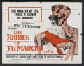 "Movie Posters:Horror, The Brides of Fu Manchu (Seven Arts Pictures, 1966). Half Sheet (22"" X 28""). Horror. Starring Christopher Lee, Douglas Wilne..."