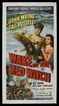 "Movie Posters:Adventure, Wake of the Red Witch (Republic, 1949). Three Sheet (41"" X 81"").Adventure. Starring John Wayne, Gail Russell, Gig Young, Ad..."