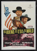 """Movie Posters:Western, The Good, The Bad and the Ugly (United Artists, 1968). Spanish One Sheet (27.5"""" X 39.5""""). Western. Starring Clint Eastwood, ..."""