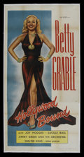 """Movie Posters:Musical, Hollywood Bound (Astor Pictures, 1946). Three Sheet (41"""" X 81""""). Musical. Starring Betty Grable, Joy Hodges, Lucille Ball, J..."""