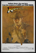 "Movie Posters:Adventure, Raiders of the Lost Ark (Paramount, 1981). Poster (40"" X 60"").Adventure. Starring Harrison Ford, Karen Allen, Paul Freeman,..."
