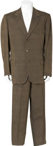 Movie/TV Memorabilia:Costumes, Ernie Kovacs' Silk Suit.... (Total: 2 Items)