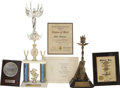 Movie/TV Memorabilia:Awards, Edie Adams' Assorted Awards.... (Total: 6 Items)