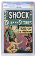 Golden Age (1938-1955):Horror, Shock SuspenStories #17 (EC, 1954) CGC VF 8.0 Off-white pages....