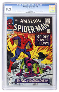The Amazing Spider-Man #40 (Marvel, 1966) CGC NM- 9.2 White pages