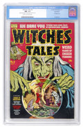 Golden Age (1938-1955):Horror, Witches Tales #3 Northford pedigree (Harvey, 1951) CGC NM- 9.2Cream to off-white pages....