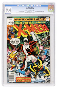 X-Men #109 (Marvel, 1978) CGC NM 9.4 Cream to off-white pages