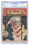 Golden Age (1938-1955):Humor, Super-Dooper Comics #7 (Able Mfg. Co./ Harvey, 1946) CGC VF 8.0 Cream to off-white pages....