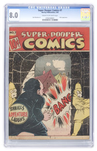 Super-Dooper Comics #7 (Able Mfg. Co./ Harvey, 1946) CGC VF 8.0 Cream to off-white pages
