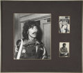 Music Memorabilia:Autographs and Signed Items, George Harrison Framed Autographs Display....