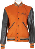 Music Memorabilia:Memorabilia, Elvis Presley Related - Shirley Sumner Enoch's Stamps Summer Tour Jacket (1970s)....