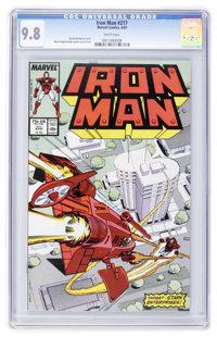 Iron Man #217 (Marvel, 1987) CGC NM/MT 9.8 White pages
