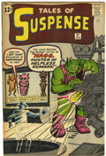Silver Age (1956-1969):Science Fiction, Tales of Suspense #37 (Marvel, 1963) Condition: FN/VF....