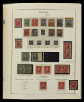 Stamps, 1857-1944, Extensive & Valuable mint Collection. (Original Gum - Hinged).... (Total: 2 Album)