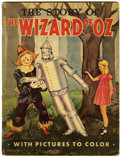 Memorabilia:Movie-Related, The Story of the Wizard of Oz Coloring Book (Whitman, 1939)....