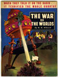Memorabilia:Science Fiction, The War of the Worlds Illustrated Digest #711 (Whitman, 1938)....