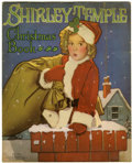 Memorabilia:Movie-Related, Shirley Temple Christmas Book #1770 (Saalfield, 1937)....