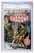 Bronze Age (1970-1979):Horror, Tower of Shadows Annual #1 (Marvel, 1971) CGC NM- 9.2 Whitepages....
