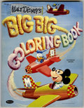Memorabilia:Disney, Walt Disney's Big Big Coloring Book #4065:49 (Whitman, 1954)....