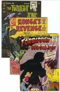 Silver Age (1956-1969):Horror, Miscellaneous Silver Age Horror Group (Various publishers,1958-72). Condition: Average VG.... (Total: 24 Comic Books)