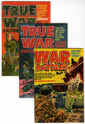 Golden Age (1938-1955):War, War Battles/True War Experiences File Copy Group (Harvey, 1952)Condition: Average VF/NM.... (Total: 7 Comic Books)