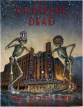 Music Memorabilia:Posters, Grateful Dead New York City Radio City Music Hall (1980)....